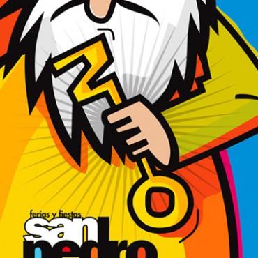 Diseño del cartel San Pedro 2012, Zamora