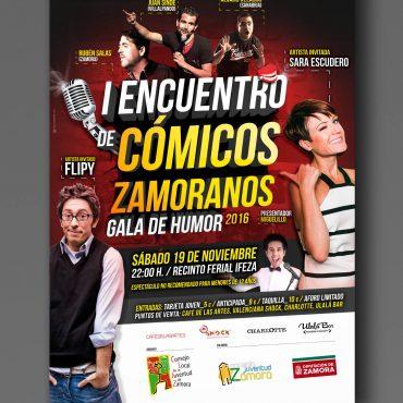 Flipy y Sara Escudero cartel