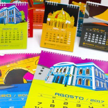 Calendarios Estudio Piorno 2017 Zamora